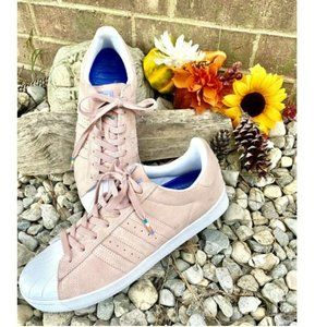 ADIDAS Men Superstar Vulc Pink Shoes Sneakers 9.5